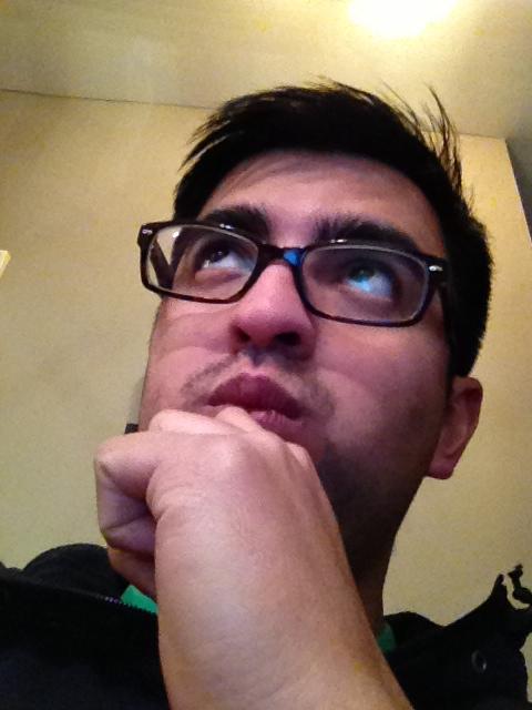 Me pondering about pondering